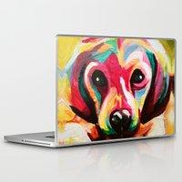 puppy Laptop & iPad Skins featuring Puppy by stepanka hejlova