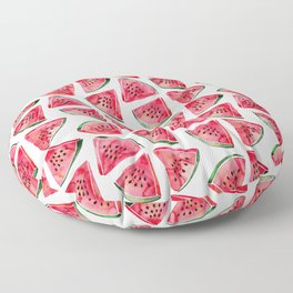Watermelon Slices Floor Pillow