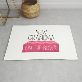 New Grandma On The Block Rug