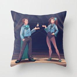 Gleeful Throw Pillow