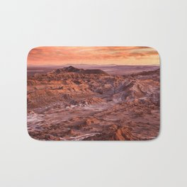 Desert orange Bath Mat