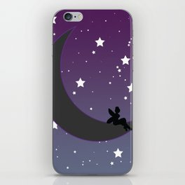 Fairy Moon iPhone Skin