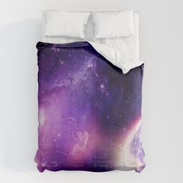 Detached in the Universe Comforters