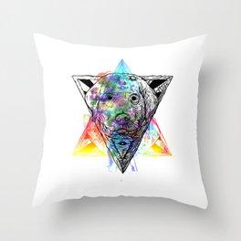 Day Watcher  Throw Pillow
