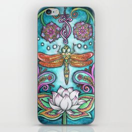 Enlightened Dragonfly iPhone Skin