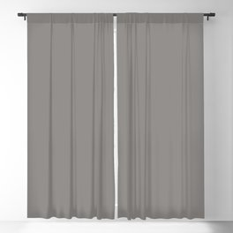 Frost Gray Solid Color Trend Autumn Winter 2019 2020 Blackout Curtain