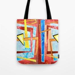 Spontaneous Geometric 1 Tote Bag