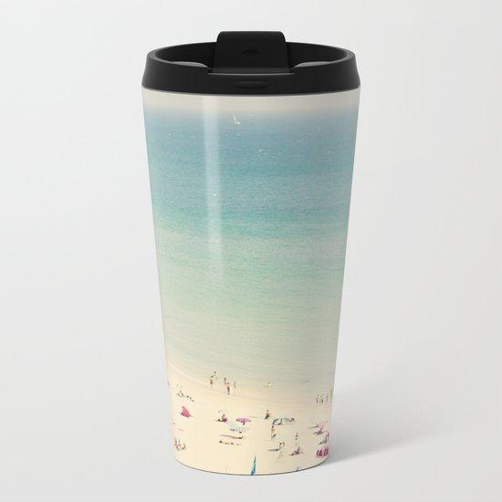beach VII Metal Travel Mug