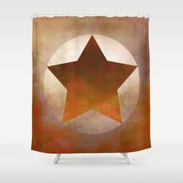 Star Composition VIII Shower Curtain