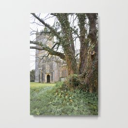 Beautiful Old Structures Metal Print