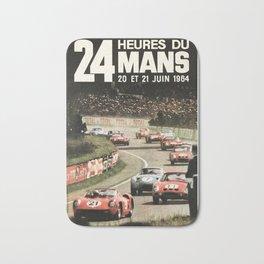 Le Mans 1964, Le Mans poster, Le Mans t shirt, Race poster, Bath Mat
