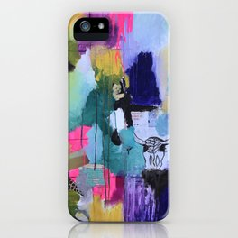 Beyond chaos & cohesion :: Tessellated Space? (2014). iPhone Case