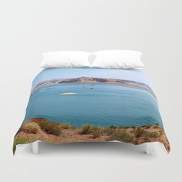 Lake Powell Impression Duvet Cover