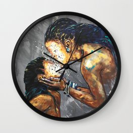 Naturally XXX Wall Clock