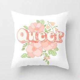 Queer Throw Pillow