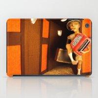 hunter s thompson iPad Cases featuring Hunter S. Thompson by SwampFox Studio