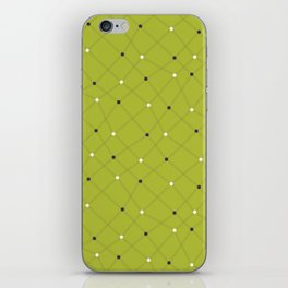 Chemistry Class Doodles - Lime iPhone Skin