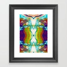 Monadic Determination Framed Art Print
