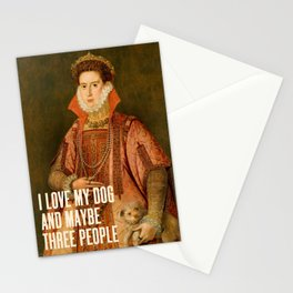 I Love My Dog Stationery Cards