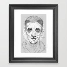 circlefaces Framed Art Print