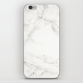 Marble by Hand iPhone Skin