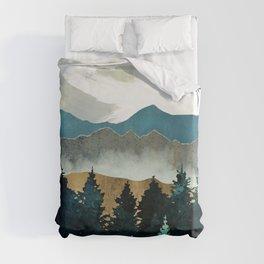 Forest Mist Duvet Cover