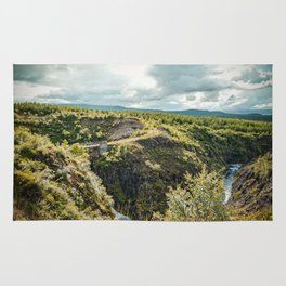 Rivers and Roads Rug