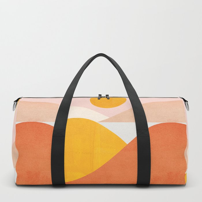 Abstraction_Mountains Duffle Bag