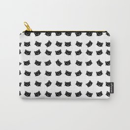 Black Cat Pattern Carry-All Pouch