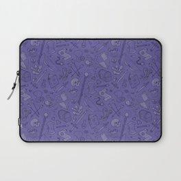 Inventory in Purple Laptop Sleeve