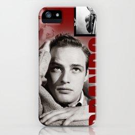 Marlon Brando Collage 3 iPhone Case