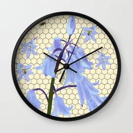 Bee Paradise Wall Clock