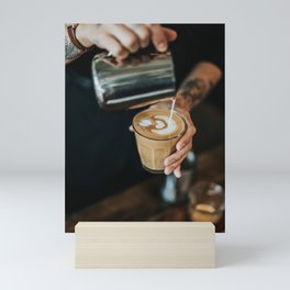 Latte Art Mini Art Print