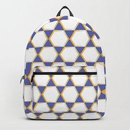 Blue Gold Backpack