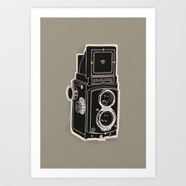 Rolleicord Art Print
