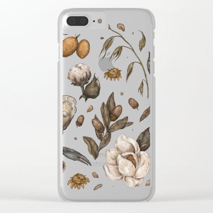 Georgia Nature Walks Clear iPhone Case