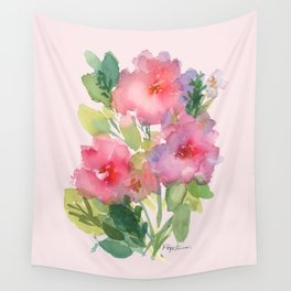 Windsor Red Roses Wall Tapestry