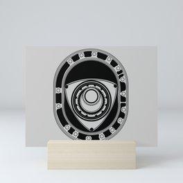 Rotary Mini Art Print