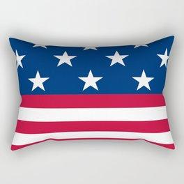 US Flag Rectangular Pillow