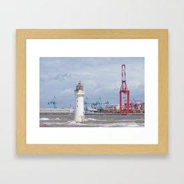 Tall, taller, tallest Framed Art Print