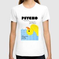 psycho T-shirts featuring Psycho by Chá de Polpa