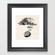 Boulder Dreams Framed Art Print