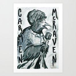 Carmen McRaven Art Print