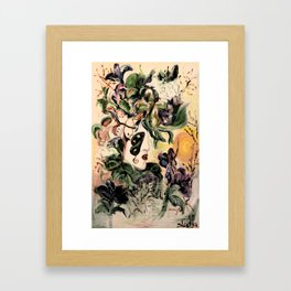 Lady B Framed Art Print