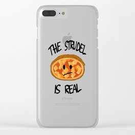 The Strudel is Real Clear iPhone Case