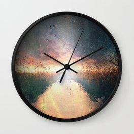 Dreams of dust Wall Clock