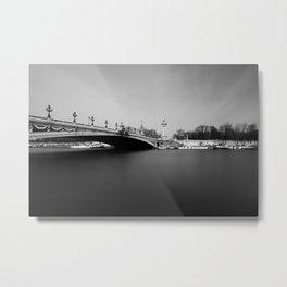 paris - pont alexandre III Metal Print