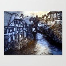 Irish Village Canvas Print