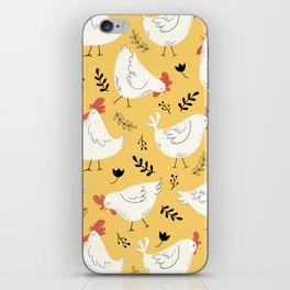 Lovely Little Hens iPhone Skin