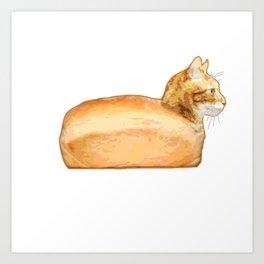 Loaf of Cat Art Print